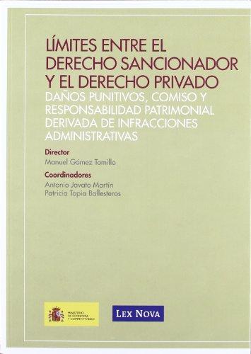 Límites entre el derecho sancionador y el derecho privado (Monografía)