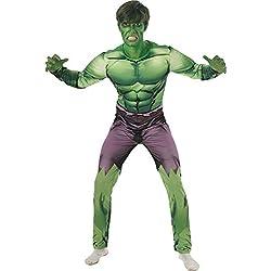 Rubies s oficial Marvel Hulk Deluxe, disfraz para adultos–X-Large