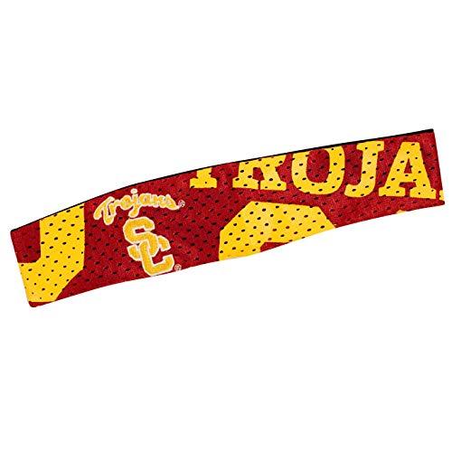 Kostüm Trojan - Littlearth NCAA Fanband Stirnband, Damen, USC Trojans, Einheitsgröße