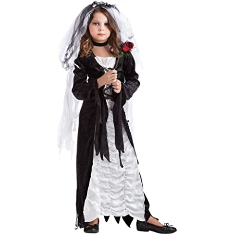 California Costumes-Costume da sposa di tenebra