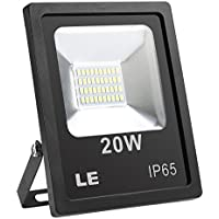 LE Foco proyector Exteriores LED 20W ~ 200W Halógeno Blanco frío Resistente al agua, jardines, patios, almacenes, etc