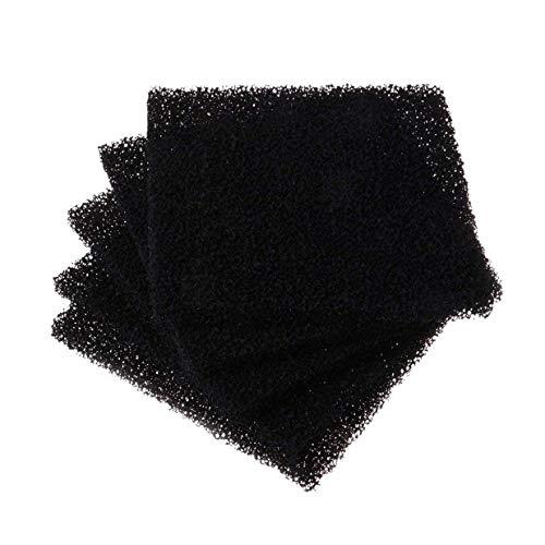 REFURBISHHOUSE Aktiv Kohle Filter Schwamm L?ten Rauch Absorber Esd Dunst Abzug 13X13Cm (Kohle-aktiv-filter)