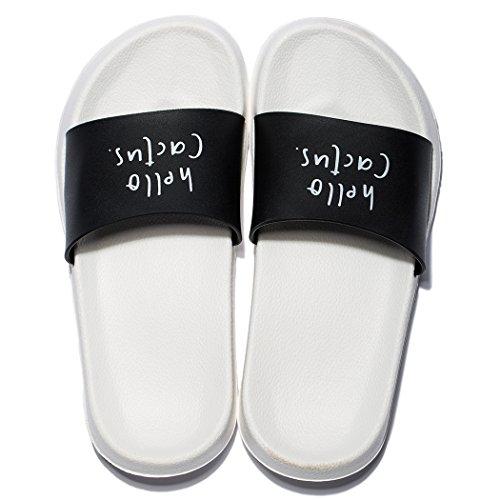 Mayi pantofole da bagno per le donne antiscivolo scarpe da casa al coperto sandali da bagno all'aperto estate spiaggia infradito per la casa balneare palestra piscina