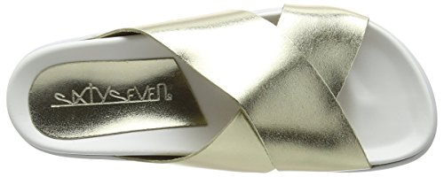 Sixty Seven 77719, Chaussures Habillées Femme Oro/Blanco