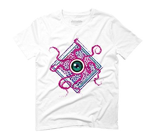 Space bacterium Men's Graphic T-Shirt - Design By Humans White