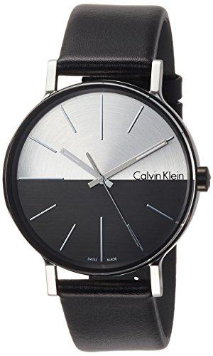 Orologio Calvin Klein BOOTS K7Y21CCX Al quarzo (batteria) Acciaio Quandrante Bicolor Cinturino Pelle