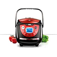 Robot Cocina Rojo con Voz-LUFTHOUS
