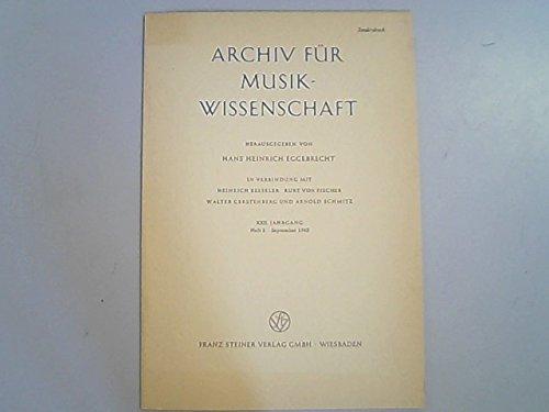 Historisches zum Klangeinsatz bei der Orgel.