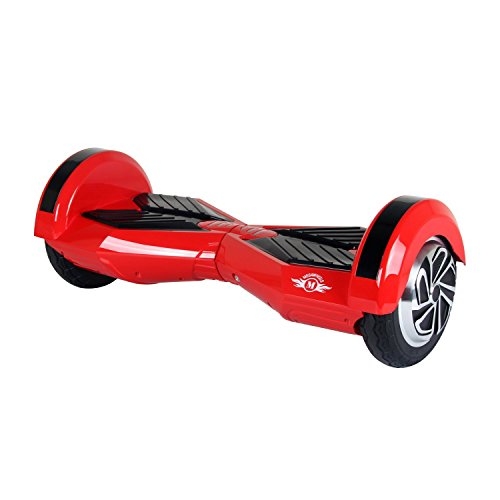 Megawheels 8 Inch Hoverboard Electic Scooter UL Certificate (Rosso-Nero)