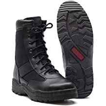 Normani - Botas de moto, color: Negro