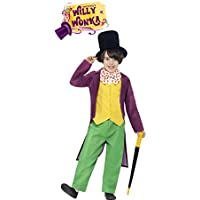 Disfraz de Willy Wonka de la Fábrica de Chocolate de Roald Dahl para niño