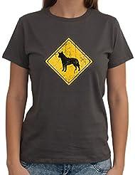 Australian Cattle Dog SIGN OLD VINTAGE Dame T-Shirt