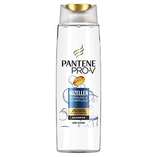 Pantene Pro-V Mizellen Reinigung undNährpflege Shampoo, Sanfte Reinigung Mit Mizellenwasser, 300 ml