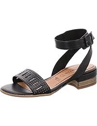 Tamaris 28046, Spartiates Femme, Noir (Black 001), 38 EU