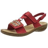 Rieker 62852, Gesloten teen sandalen Vrouwen 35.5 EU