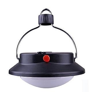 RAING ultifunctional Camping Lights Designer frisbee-type schwarz Camping Leuchten Pendelleuchte Beschläge, Zelt, Pendelleuchten (Leuchtmittel Konfiguration Optionen LEDs, 36LED, 60LED)