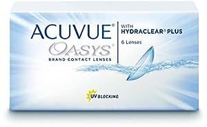 Acuvue 2-Wochenlinsen weich, 6 Stück / BC 8.7 mm / DIA 14.0 / -2,75 Dioptrien
