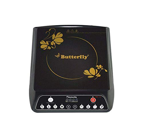Butterfly Power Hob Turbo Plus Induction Cooktop (Black)