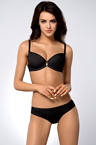 Ava 146/69 Slips Damen Unterhosen Unterwäsche Glatt Setteil Top Qualität EU Schwarz