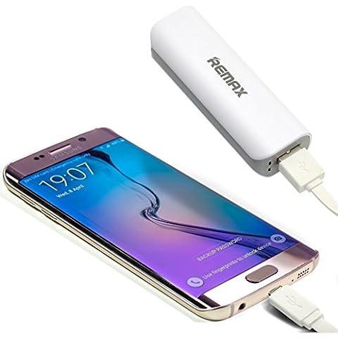 Fone-Case (White) Huawei Nova Plus Banca portatile di potere caricabatteria esterno ultra compatta