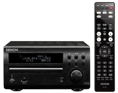 Denon RCD-M39 Sintoamplificatore e Lettore CD, Nero in offerta su Polaris Audio Hi Fi