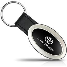 Toyota Land Cruiser Oval estilo Metal clave cadena llavero