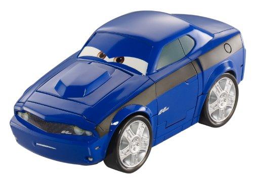 Mattel Fisher-Price Disney Cars V3012 - 2 Rod Torque Redline 2-in-1 Actionfahrzeug