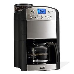 Beem Fresh-Aroma-Perfect V2 Kaffeemaschine (1000 Watt, mit Mahlwerk) Edelstahl