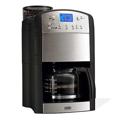 BEEM Fresh-Aroma-Perfect V2, Kaffeemaschine mit Mahlwerk, Edelstahl