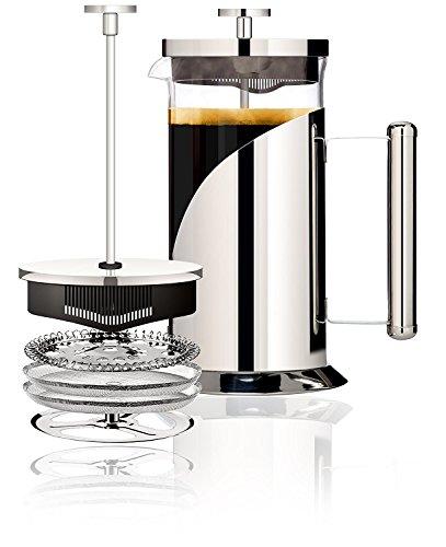 Cafe Du Chateau Französischen Presse, Kaffeemaschine, 1000 ml Plastic Liner Travel Mug