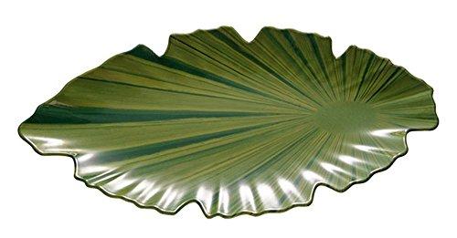 APS Plateau Feuille 40 x 18,5 cm, H: 3,5 cm mélamine, grün