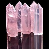 Wuudi Natürlicher Kristallstab mit 6 Prismen-Quarzstäbchen, Heilung, Therapie, Chakra, Meditationsstein, Deko-Anhänger preisvergleich bei billige-tabletten.eu