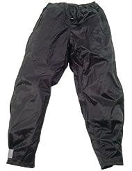 HOCK pluie Habillement adultes Pantalon imperméable rain guard Zipp Noir Noir