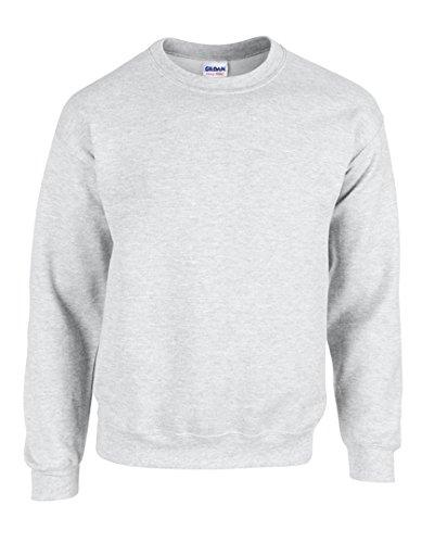 Gildan Heavy Blend Sweatshirt mit Rundhalsausschnitt M,Ash (Heather)