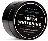 Digital Shoppy Natural Teeth Whitening Activated Organic Charcoal Powder - 30Gm
