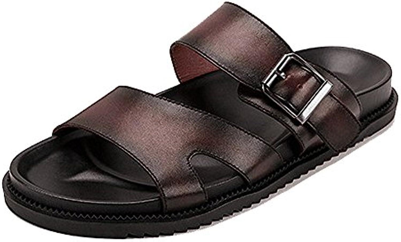 LYZGF Zapatillas Casuales Ocasionales para Hombre Sandalias para Playa Al Aire Libre Antideslizantes