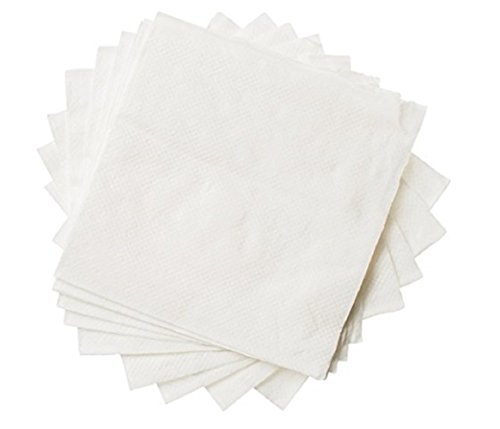 Getränk, Papier Servietten Pack durch edaydeal gefaltet Papier Handtücher für Cocktails, Wein, Vorspeisen, Wasser saugfähig für Partys, Meetings, Zuhause, Einweg und komfortabel, und elegant