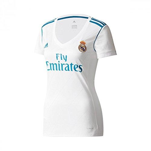c93a495b715ad adidas H Jsy W Camiseta 1ª Equipación Real Madrid 2017-2018 ...