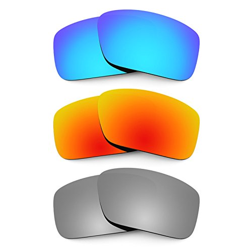 19fa9d9dba6 Revant Replacement Lenses for Arnette Big Deal AN4168 3 Pair Combo Pack K014