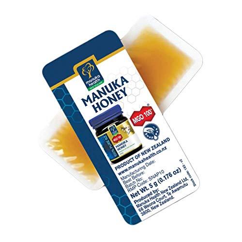Manuka Health Manuka honing MGO 100+ 12x5 gram - Health Manukahonig Nz
