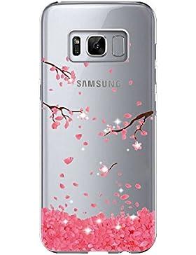 vanki Cover Samsung Galaxy S8 Plus, Galaxy S8 Plus Custodia Morbida di TPU Cristallo Trasparente Sottile Bordo...