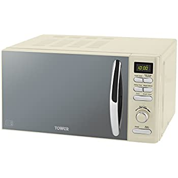 Tower Infinity Digital Solo Microwave with 6 Power Levels, 8