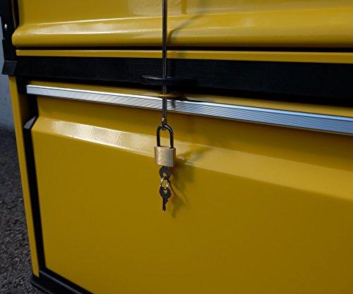 Metall Werkzeugtrolley Werkzeugkasten Werkstattwagen XXL Type: 305/3B1D von AS-S - 6