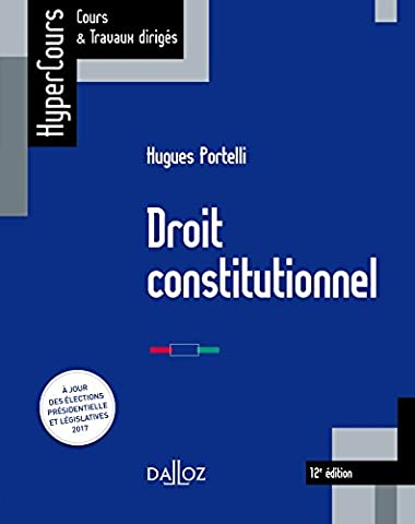 Droit constitutionnel - 12e