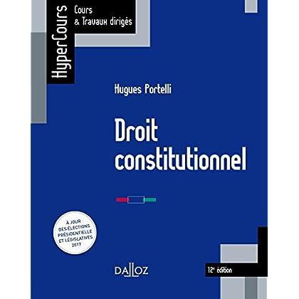 Droit constitutionnel - 12e éd.