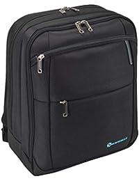Savebag 16731 - Sac à dos BLUE RAY porte-ordinateur Noir - 2 compartiments - Capacité : 22 litres
