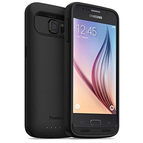 PowerBear Funda de Batería Samsung Galaxy S6 [3500 mAh] Cargador de Batería...