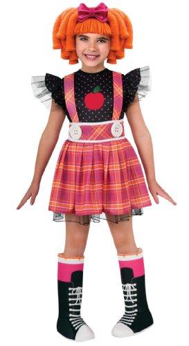Lalaloopsi Bea Spells a Lot Puppe Girl Mädchen Kinder Fasching Karneval Kostüm Costume 92-104