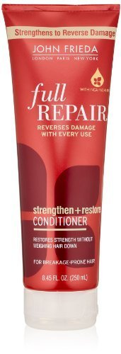 John Frieda Full Repair Strengthen and Restore Conditioner, 8.45 Fluid Ounce (Pack of 2) by KAO Brands [Beauty] (English Manual)
