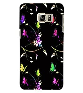 ColourCraft Printed Design Back Case Cover for SAMSUNG GALAXY S6 EDGE PLUS